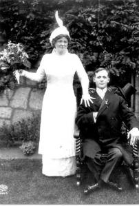 Nan O'Brien, Emery Mason Prouty, wed sept 1914